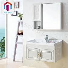 Lex Freestanding Bathroom Vanity Unit Ceramic Basin Cabinet Gloss