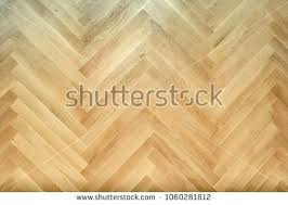 Wooden Floor With Herringbone Pattern Top View Wood Look Tile