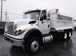 100 Tandem Truck Used 2012 International 7400 Dump Diesel Air Brakes For