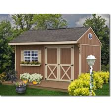 Barns Northwood 10x10 Wood Storage Shed Kit ALL Pre Cut