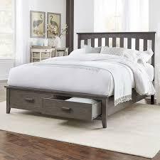 Wayfair Platform Bed by Amazing Platform Bed With Drawers Rustic Reclaimed Barnwood Design