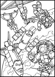 Space Coloring Pages 6183