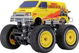 100 Monster Truck Lunch Box Tamiya Mini Brushed 124 RC Model Car Electric