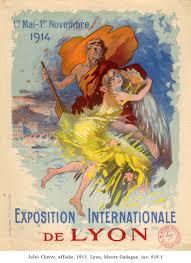 chambre de commerce porte de cherret l exposition internationale de lyon en 1914 lyon unesco