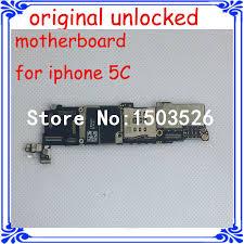 original logic board for iphone 5C unlock motherboard good working