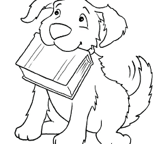 Husky Coloring Pages Dog Printable Page Of A