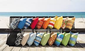 Outdoor Furniture Cushions Sunbrella Fabric by How To Care For Sunbrella Fabrics How To Decorate