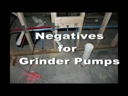 Basement Bathroom Sewage Ejector Pump by Home Sewer Service And Grinder Pumps Youtube