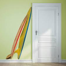 Decorative Surfboard Wall Art by Double Surfboard Corner Wall Sticker By Oakdene Designs