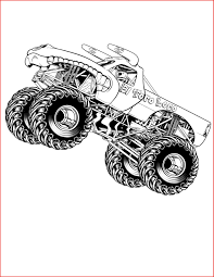 Monster Truck Drawing 68688 Free Printable Monster Truck Coloring ...