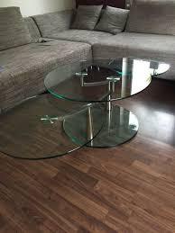 glastisch rund drehbar