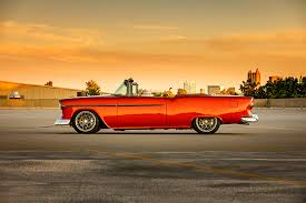 A Brand-New Bowtie: Bob Merckle's 1955 Chevrolet Bel Air Convertible ...