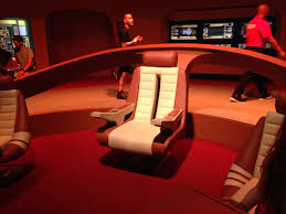 Star Trek Captains Chair by Celebrate 50 Years Of U201cstar Trek U201d At The Intrepid Sea Air U0026 Space
