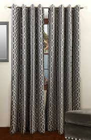 Moroccan Lattice Curtain Panels by Samba Window Panels From Rodeo Home Decorating With Gray