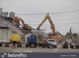 Construction: Demolition Site - Stock Image I3668410 At FeaturePics