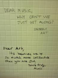 But Mostly The Bathroom Wall Is A Place To Show Your Intellectual Prowess