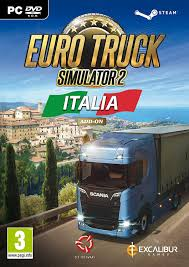 100 Euro Truck Simulator 3 2 Italia Add On PC DVD Steam Version