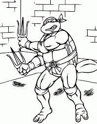 Dessin Tortue Ninja A Imprimer