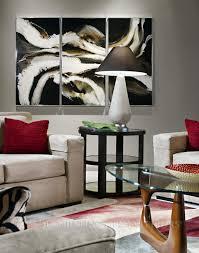 awesome artwork decorating den interiors
