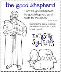 Primary 7 Lesson Cards Download Worksheet Jesus Good Shepherd Coloring Pages