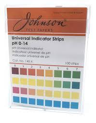 100 Ph Of 1 Universal Indicator Strips 0 4 Non Bleed