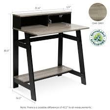 Wayfair Desks With Hutch by Amazon Com Furinno 14054bk Gyw Simplistic A Frame Computer Desk