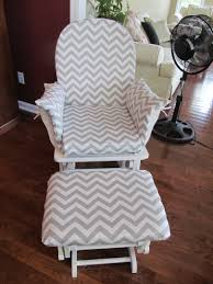Light Grey Rocking Chair Cushions by How To Sew A Rocking Chair Slipcover Chair Slipcovers Rocking