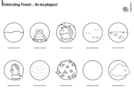 Passover Coloring Pages For Toddlers Preschoolers Plagues Feast