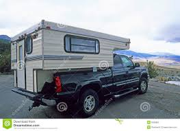 Truck Camper 1 Stock Image. Image Of Automobile, Camping - 6596883