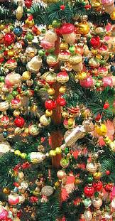 Feather Tree Beaded Chains Garland