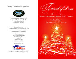 Millers Christmas Tree Farm by Fundraising Invitations Williamsandphilips