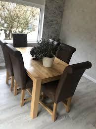 6 stühle möbel kraft top zustand