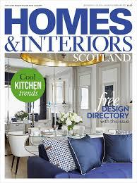 100 Magazine Houses Homes Interiors Scotland JanFeb 2017 Eskgrove Homes