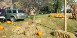 Kent City Pumpkin Patch by Man Crashes Vehicle Into Firefighters U0027 Charity Pumpkin Patch