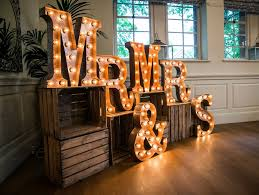 4ft 11m Tall Steel Letter Lights With Carnival Light Caps Bob Cool