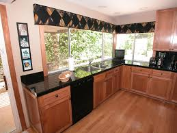 Black Galaxy Granite Kitchen Countertop Island Installed Finished Granix 7