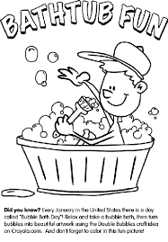 Crayola Bathtub Crayons Refill by Bathtub Fun Coloring Page Crayola Com