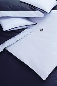 collection parure de lit jeu de couleur navy et blanc