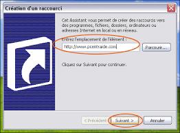 creer icone bureau comment créer un raccourci vers un site sur bureau