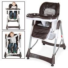 chaise pour bébé chaise haute pour bébé enfant grand confort pliable sécurité à 5