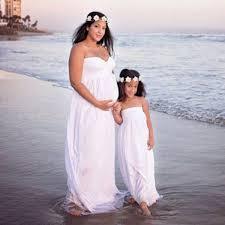 699 Pregnant Women Off Shoulder Lace Long Maxi Dress Maternity