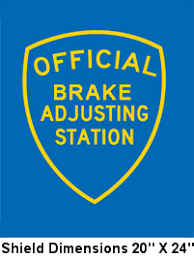 Brake And Lamp Inspection Fresno Ca by Stations Signs