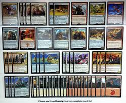 Mtg Enchantment Deck 2015 by Mtg Red Energy Deck Magic The Gathering Rare Cards Kal