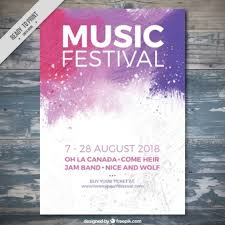 Music Poster Vectors Photos And PSD Files