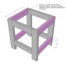 small end table from 2x4 u0027s do it yourself home projects from ana