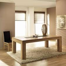 table de salle à manger en chêne massif extensible baobab 4