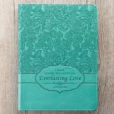 Turquoise Everlasting Love Jer 313 Classic Luxleather Journal