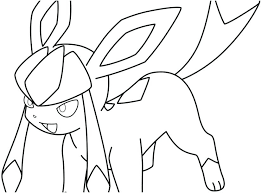 Pokemon Eevee Coloring Pages To Print Picture Evolution