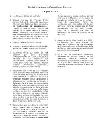 Requisitos Para Instructor