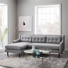 West Elm Paidge Sofa Grand by Monroe Mid Century Collection West Elm